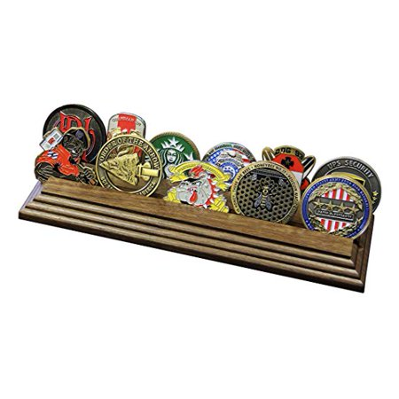 2 Row Coin Rack Row Challenge Coin Rack