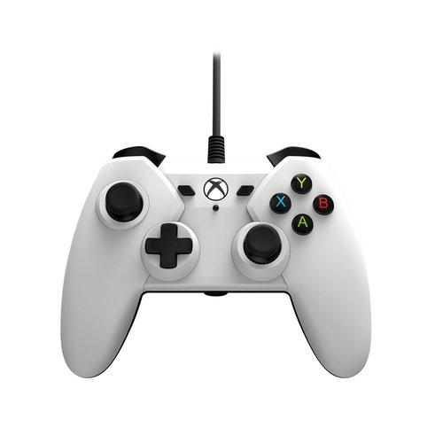 Xbox One PowerA Wired Controller, White