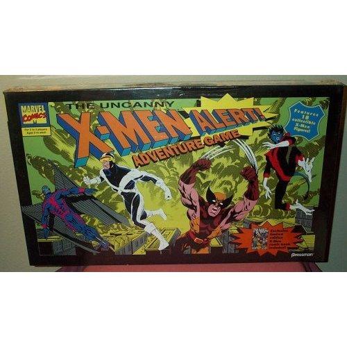 The Uncanny X-Men Alert! Adventure Game Features 18 Collectible X-Men Figures by PRESSMAN-MARVEL COMICS by