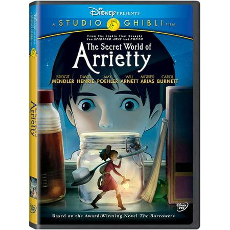 The Secret World of Arrietty (DVD)