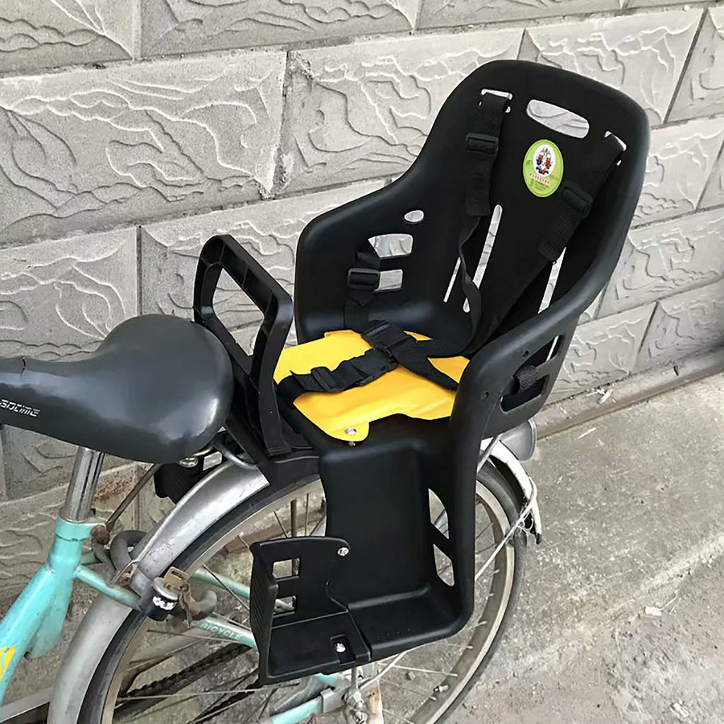 Bicycle Seat For Children Safety Child Wide Seat Rear Of Bike Unisex Children/'s