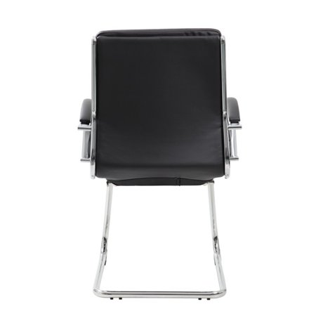 Boss Office CaressoftPlus Executive Guest Chair in Black - image 3 of 6