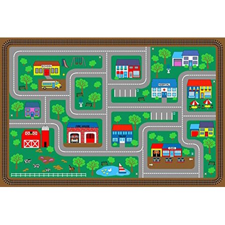 Area Rug Kids Room Play and Learn Carpet Street MAP Learning Design Map Carpet on tile map, food map, wallpaper map, metal map, klondike map, alaska map, canvas map, labyrinth map, clock map, pyramid map, home map, water map, glass map, construction map, floor map, frame map, penguin map, bed map, strategy map, concrete map,