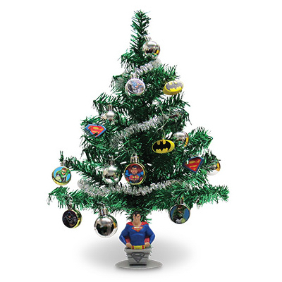 kurt s adler bm9141 artificial christmas tree set justice league