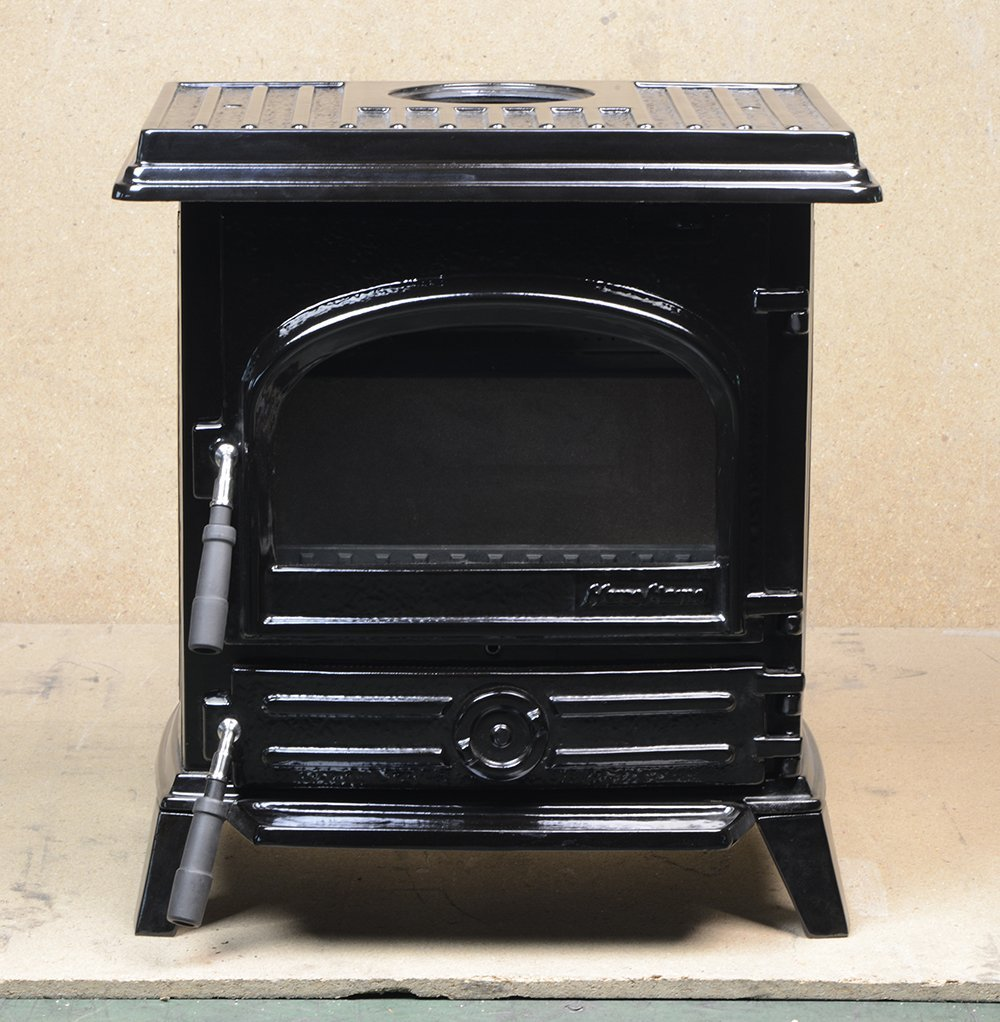 HiFlame EPA Certified cast iron wood stove HF517UBEBL Ena...