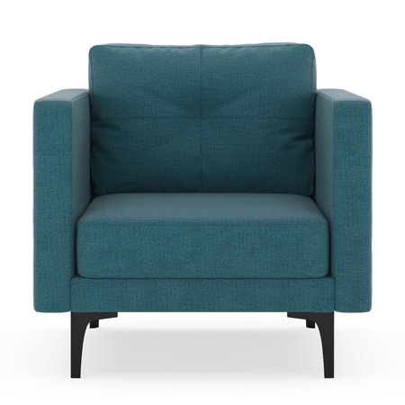 Aegean Weave Fish - Parker Armchair Oxford Weave - Aegean Blue