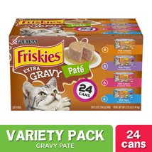 Cat Food: Friskies Paté Extra Gravy
