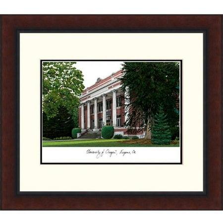 University of Oregon Legacy Alumnus Framed Lithograph