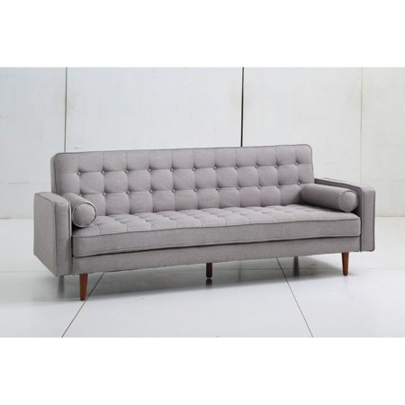 Aeon Furniture Fairfax Mid Century Modern Convertible Sofa