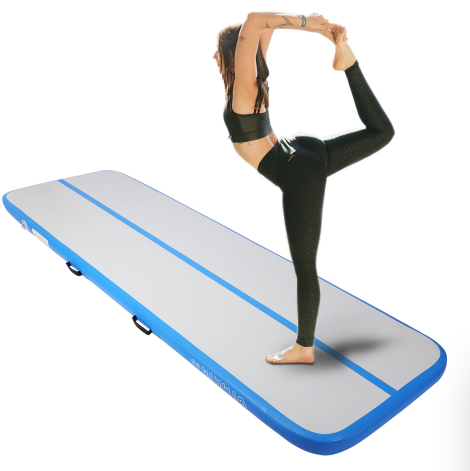 Details about  /Airtrack Inflatable Air Track Floor Home Gymnastics Tumbling Mat Yoga GYM US