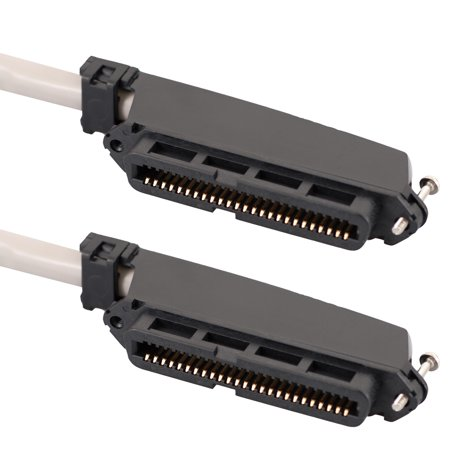 25' Assembly - ICC  25-PAIR CABLE ASSEMBLY, F-F, 90°, 25'