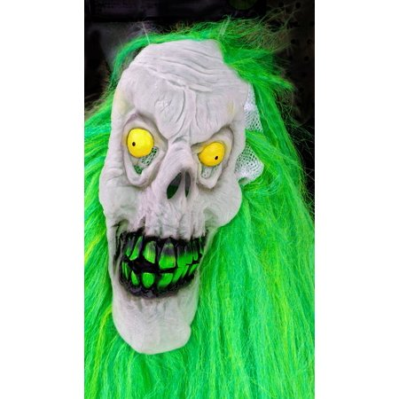 LAMINATED POSTER Horror Halloween Mask Costume Face Evil Poster Print 24 x 36 - Horror Face Mask