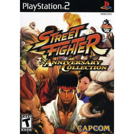 Street Fighter Anniversary Collection PS2 (King Of Fighters Maximum Impact 2 Ps2)
