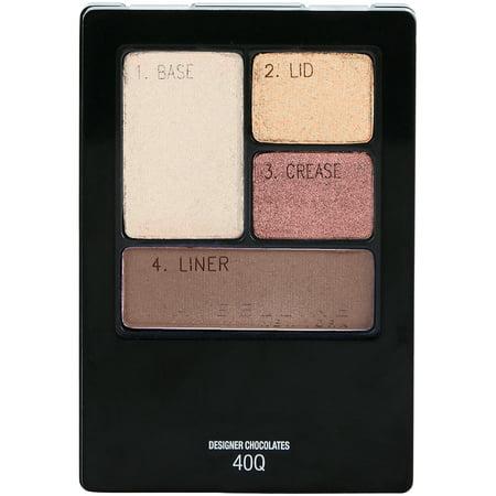 Maybelline Expert Wear Eyeshadow Quads - 40Q Designer Chocolates