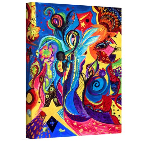 Artwall Marina Petro Guardian Angel Gallery Wrapped Canvas