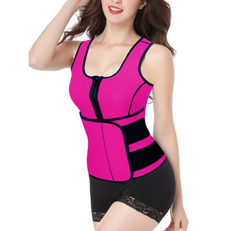 LELINTA Waist Trainer Corset for Weight Loss Neoprene Waist Trimmer Sauna Sweat Slimmer Vest Shapewear Slimming Control