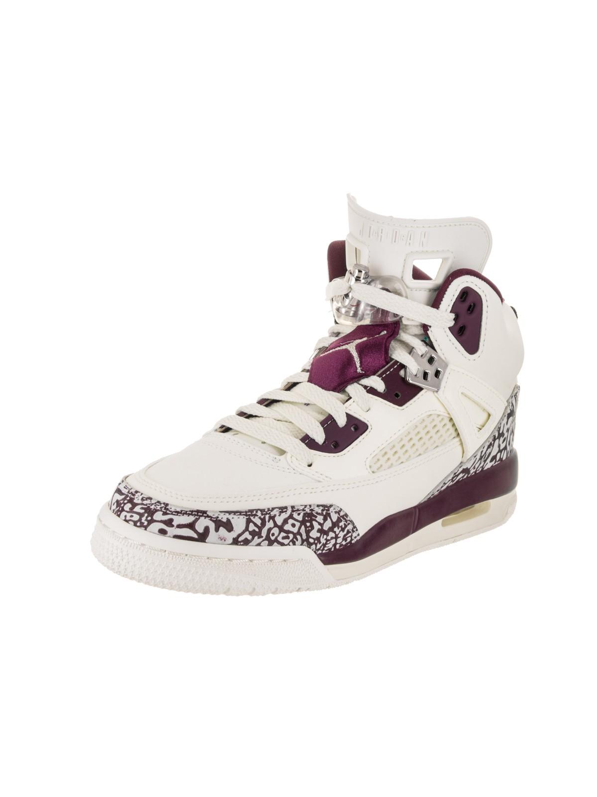 Spizike GG Big Kid's Shoes Sail/Bordeaux/Metallic Red Bronze 535712-132