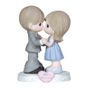 Figurine-Anniversary (General)-Couple w/Heart (Through The Years)