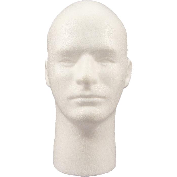 Lot of 2 Head Man foam heads