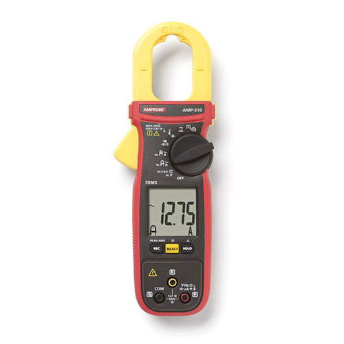 Amprobe AMP-310 600V/600A TRMS AC Clamp Multimeter with 3...