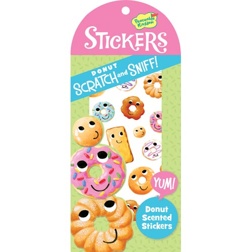 Donuts Scratch and Sniff Stickers by Peacable Kingdom