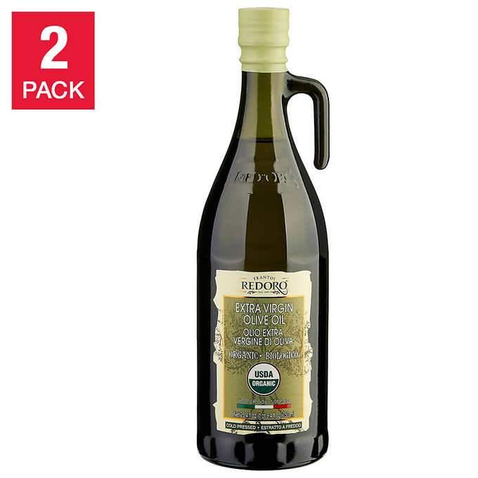 Redoro Usda Organic Extra Virgin Olive Oil 750 Ml 2 Pack Walmart Com Walmart Com