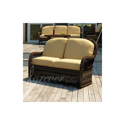 Forever Patio Leona Loveseat with Cushion