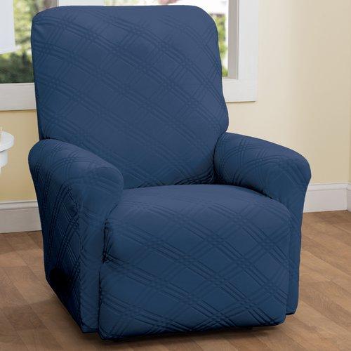 Red Barrel Studio Double Diamond Box Cushion Recliner Slipcover