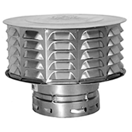 AmeriVent 5ECW Snap Lock Vent Cap, 5 in