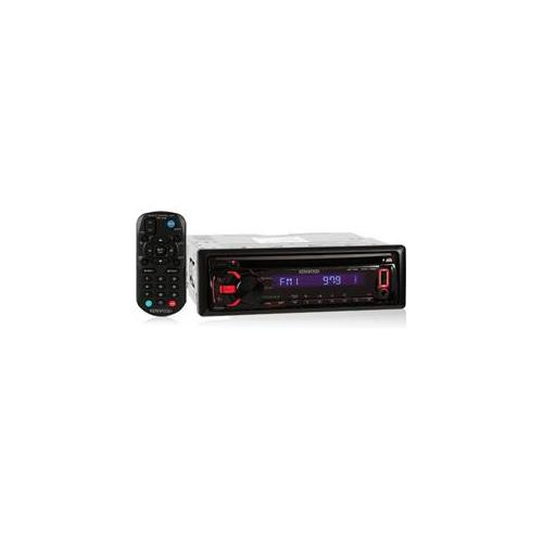 Kenwood KDC155U In-Dash CD-MP3-USB Car Stereo Receiver with iPod-iPhone Integration, Pandora Support & Auxiliary Input
