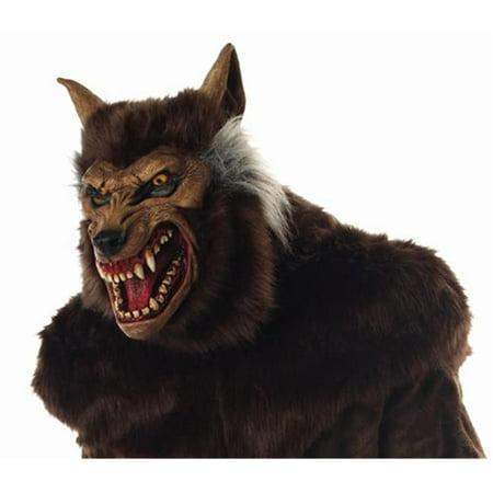 Werewolf Deluxe Mask (Werewolf Masks)