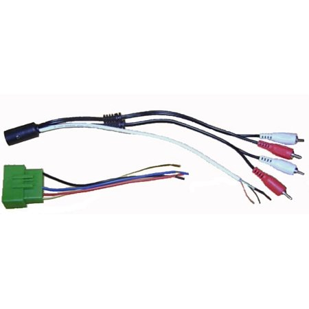 Factory Amp Interface Fits Volvo (850, S40, S60, S70, S80, S90, C70, V40, V70, XC70, XC90) Wire Harness Cable Plug