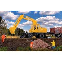 Walthers SceneMaster HO Scale Hi-Rail Excavator (Railroad Shovel Loader) - Kit
