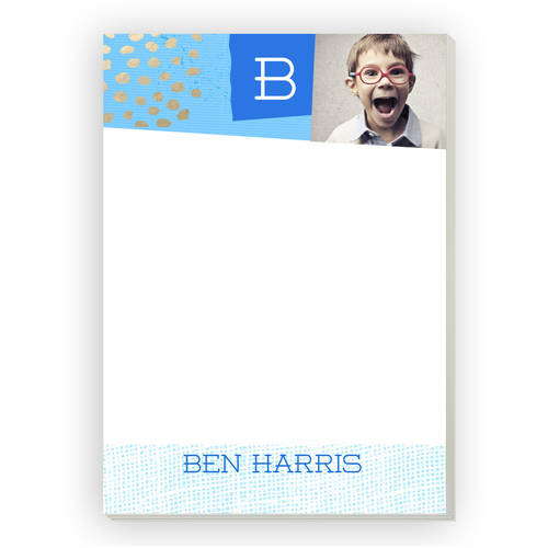 Festive Cut Paper Personalized Notepad