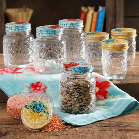 The Bug Jar (The Pioneer Woman Betsy 8-Ounce and 16-Ounce Storage Jar Set, Set of)
