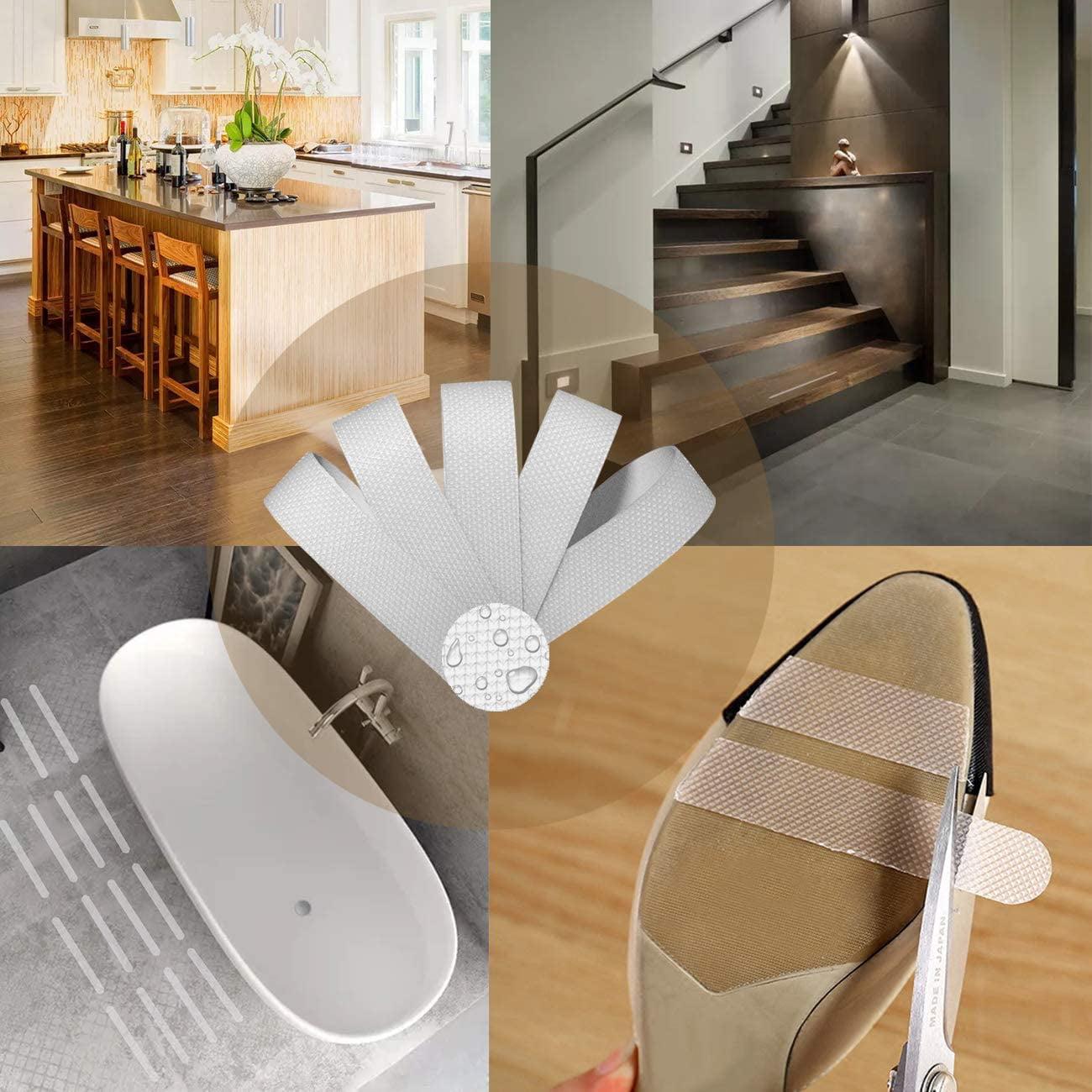Shower Tub Bathroom Accessory Bathtub Steps Floor Anti Skid Stickers Nonslip