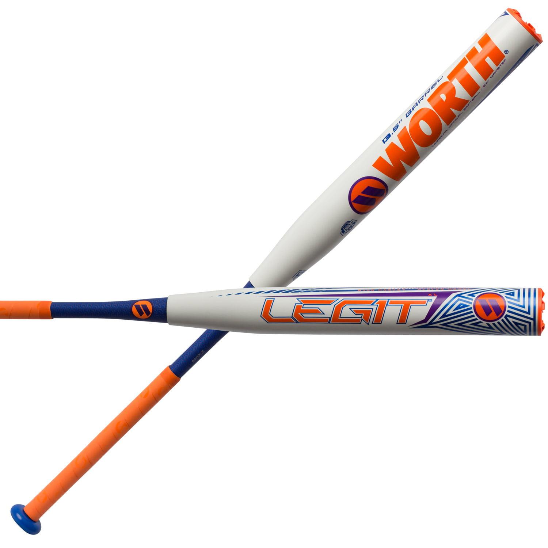 Worth Ryan Harvey Legit XL 13.5 Inch ASA Slowpitch Softball Bat - 34/28