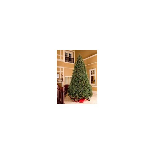 Queens of Christmas WL-TRSQ-09 9ft Classic Sequoia Tree With Metal Stand