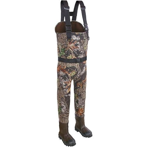 Allen Neoprene Bootfoot Chest Wader Thinsulate Boot, Mossy Oak Bu