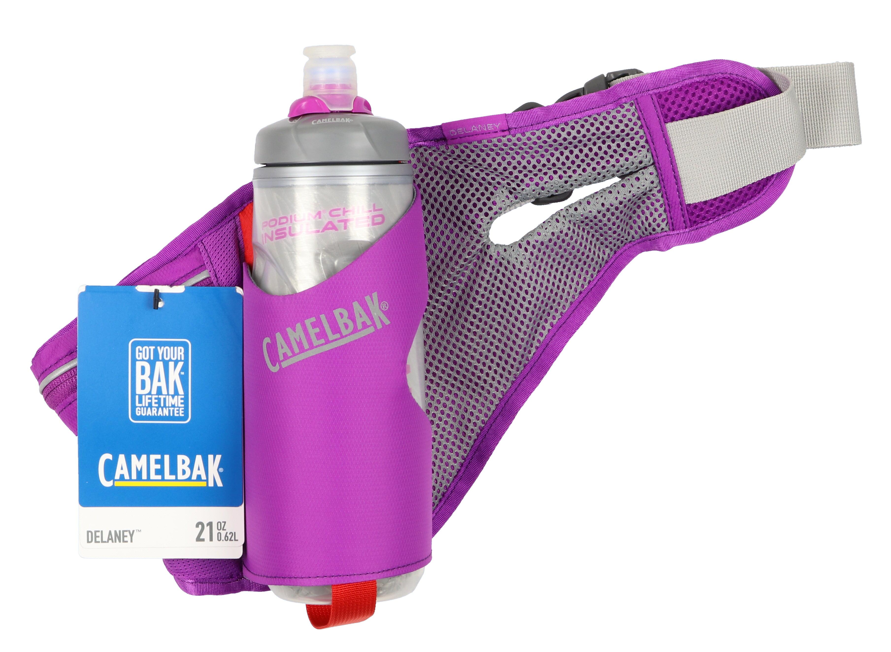 Camelbak Women's Delaney 21 oz Water Hydration Waistpack Purple Gray by CamelBak
