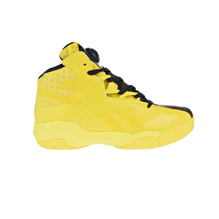 Reebok Shaq Attaq Modern Men's Basketball Shoes Yellow Spark/Black
