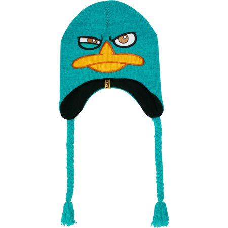 - Phineas and Ferb Perry Agent P Peruvian Laplander Knit Beanie Cap