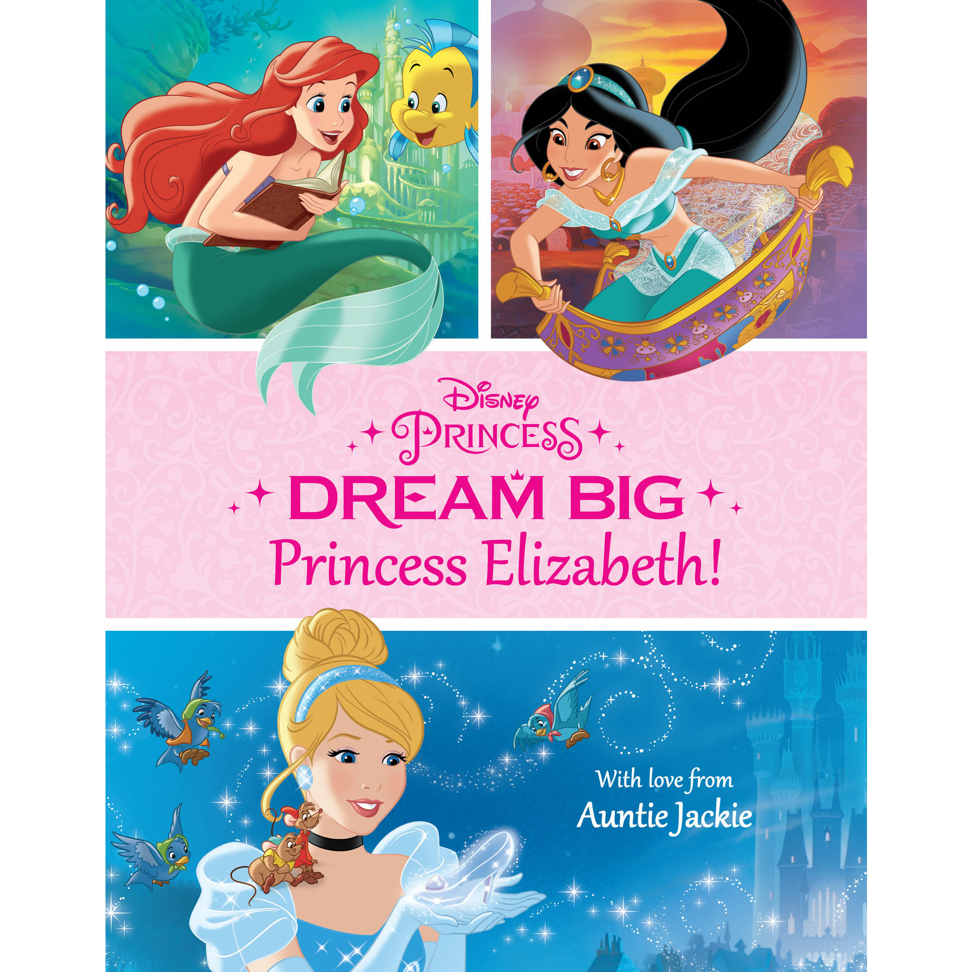 Dream Big, Princess Personalized Paperback Book