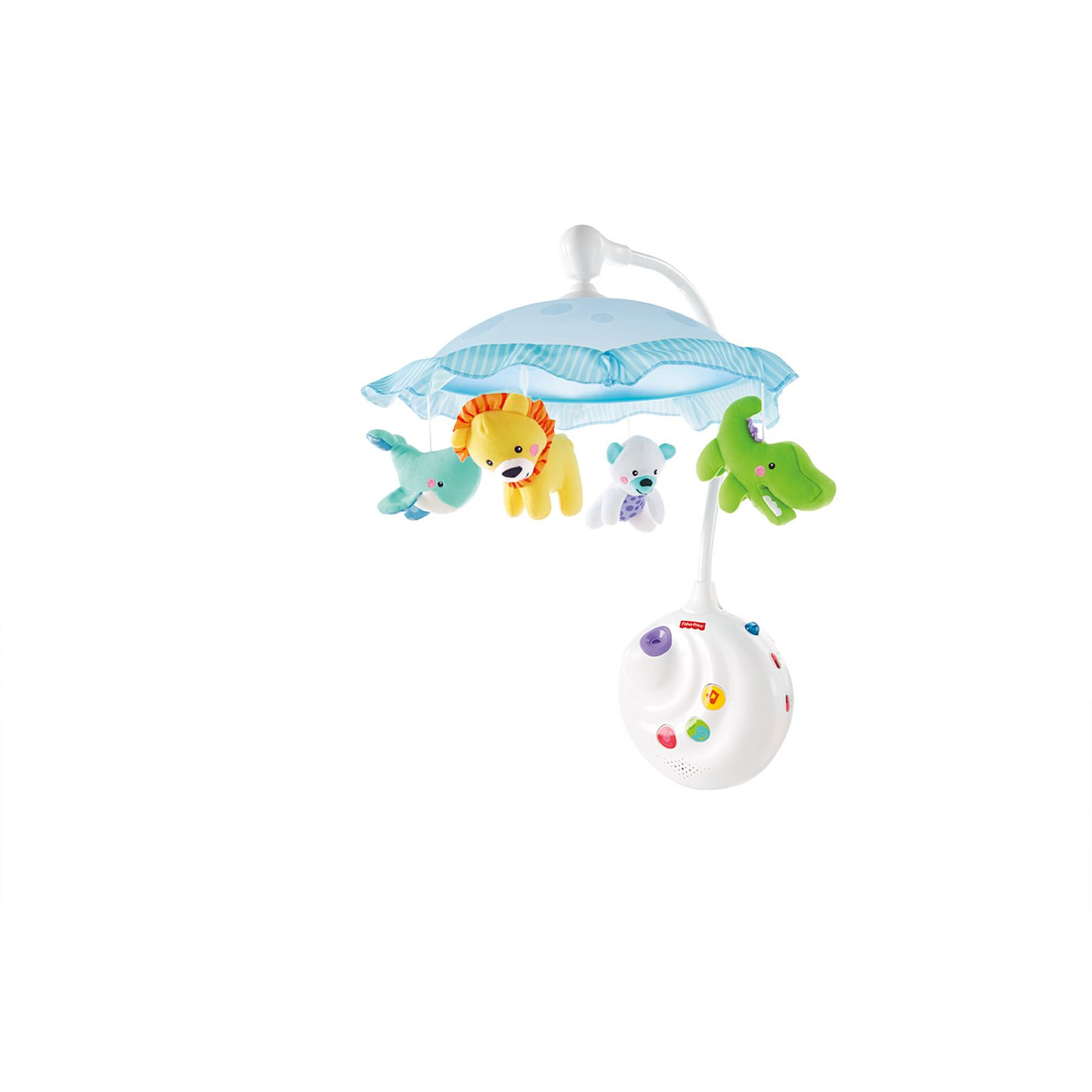 Fisher-Price 2-in-1 Projection Crib Mobile, Precious Planet
