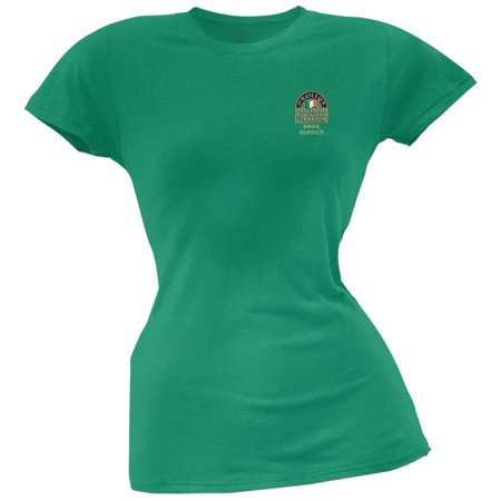 St. Patricks Day - O'Reilly's Irish Drinkers Beer Wench Kelly Juniors T-Shirt (Cheap Irish Beer)