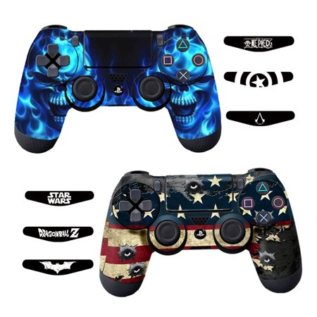 Skins For Ps4 Controller Decals For Playstation 4 Games Stickers Cover For Ps4 Slim Sony Play Station Four Controllers Pro Ps4 Accessories Ps4
