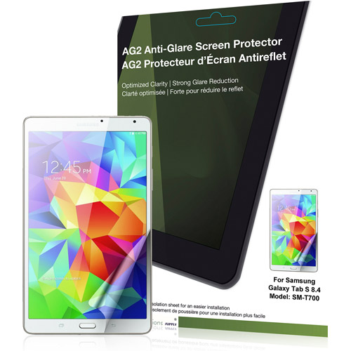 Green Onions AG2 Anti-Glare Screen Cover for Samsung Galaxy Tab S 8.4""