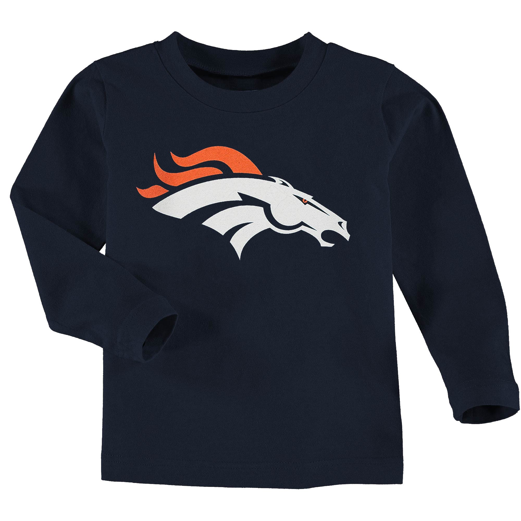 Toddler Team Logo Long Sleeve T-Shirt - Navy  ---