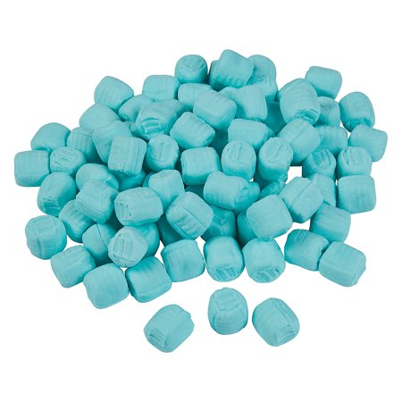 Fun Express - Unwrapped Blue Buttermints 2.75lb for Wedding - Edibles - Mints - Buttermints - Wedding - 344 Pieces](Mint Wedding)