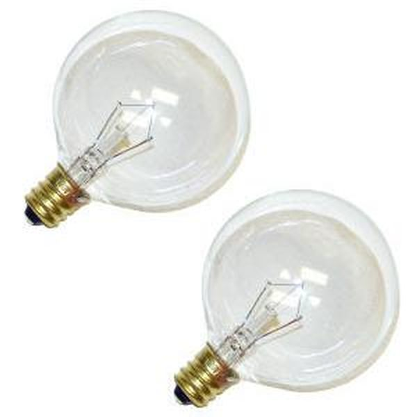 Satco 03771 - 60G16 1/2 S3771 G16 5 Decor Globe Light Bulb